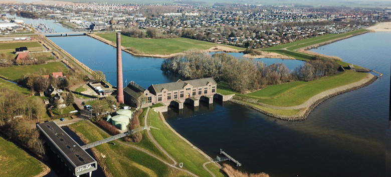 a.Woudagemaal luchtfoto